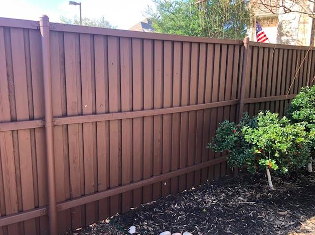 best dallas fence and deck staining service
